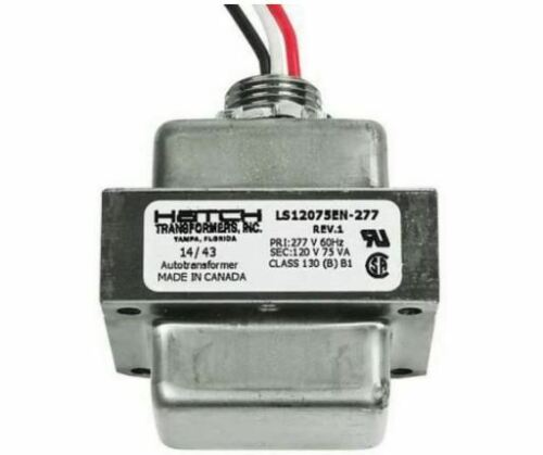 LS12075EN-277 - HATCH TRANSFORMER  277V TO 120V