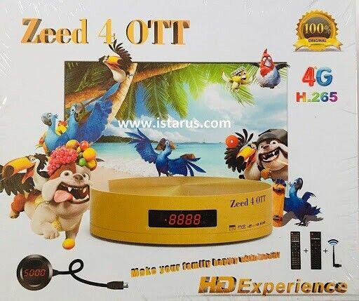 iSTAR Zeed 4 OTT جهاز ايستار قنوات عربية وعالمية مع اشتراك سنة مجانا
