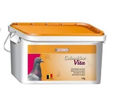 Versele Laga Colombine Vita 4kg  Vits & Mins Pigeon Food Feed