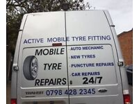 ACTIVE MOBILE TYRE FITTING 24/7 EMERENCY CALL OUT
