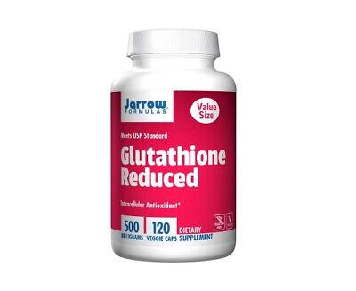 Jarrow Formulas L-Glutathione Reduced, 500mg x 120VCaps, Skin,