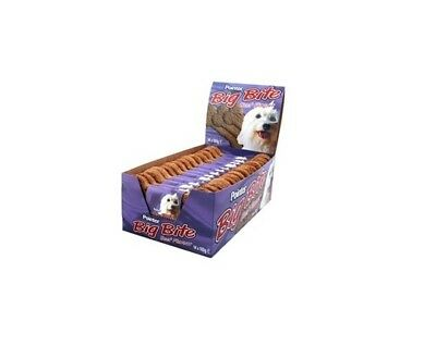 Pointer Big Bite Beef Biscuits Dog Treats 14's Dog Food Feed