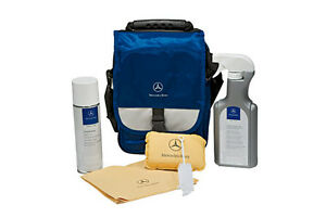 Mercedes benz interior car care kit free shipping ebay for Mercedes benz exterior car care kit