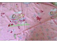 Fairies single duvet cover and pillowcae