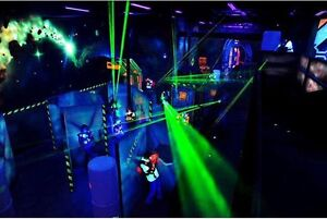 2 Laser Quest Tickets for sale