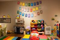 2 Daycare openings for September 2017 - any age