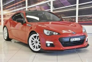 2014 Subaru BRZ Z1 MY14 Red 6 Speed Manual Coupe Blacktown Blacktown Area Preview