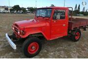 1979 Toyota Landcruiser FJ45 Red Manual Utility Caloundra West Caloundra Area Preview