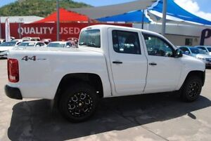 2012 Volkswagen Amarok 2H MY12.5 TDI420 4Motion Perm White 8 Speed Automatic Utility Townsville Townsville City Preview