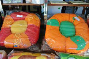 Nid douillet coussin pour bébé ou enfant (Citrouille)