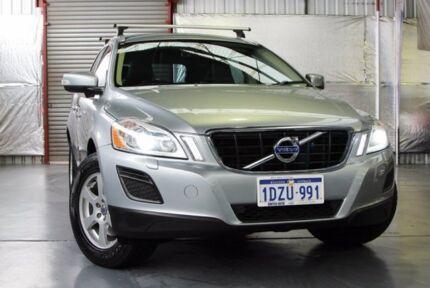 2012 Volvo XC60 DZ MY12 D5 Geartronic AWD Teknik Silver 6 Speed Sports Automatic Wagon