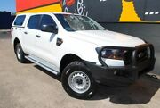 2016 Ford Ranger PX MkII XL Double Cab Cool White 6 Speed Sports Automatic Utility Melrose Park Mitcham Area Preview