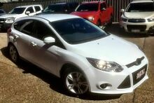 2012 Ford Focus LW Trend White 6 Speed Automatic Hatchback Mackay Mackay City Preview