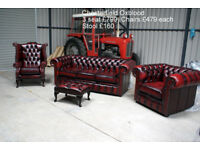 Chesterfield Sofa Chair EXPERTS. 0% FINANCE.All Brand NEW