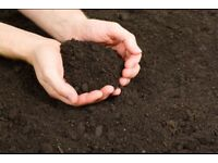 Free good quality top soil and compost