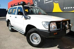 2006 Toyota Landcruiser HZJ105R Standard White 5 Speed Manual Wagon Melrose Park Mitcham Area Preview