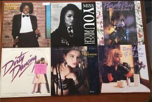 Records 80's New Wave, Rock, Country, Pop & More