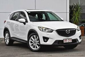 2012 Mazda CX-5 KE1021 Grand Touring SKYACTIV-Drive AWD White 6 Speed Sports Automatic Wagon Tweed Heads South Tweed Heads Area Preview