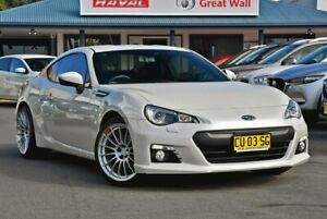2013 Subaru BRZ Z1 MY13 White 6 Speed Manual Coupe Tweed Heads Tweed Heads Area Preview