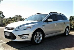 2011 Ford Mondeo MC Zetec TDCi Silver 6 Speed Sports Automatic Wagon Enfield Port Adelaide Area Preview