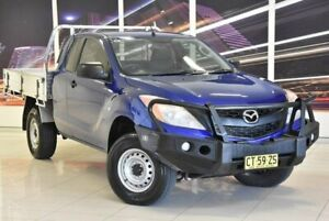 2013 Mazda BT-50 UP0YF1 XT Freestyle Blue 6 Speed Manual Cab Chassis Blacktown Blacktown Area Preview