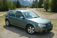 2010 Volkswagen Golf City, 27,600km! + new winter tires on rims