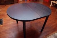 Black Dining/Kitchen Table - no chairs