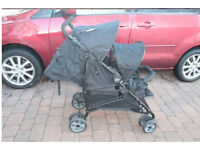 Double Tandem Pushchair/Buggy