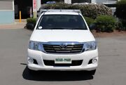 2014 Toyota Hilux GGN15R MY14 SR Xtra Cab 4x2 White 5 Speed Automatic Utility Acacia Ridge Brisbane South West Preview