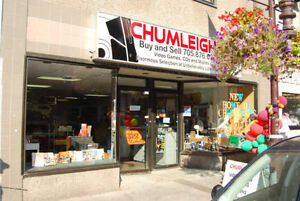 CHUMLEIGHS VIDEO GAMES, SYSTEMS, MOVIES BUY SELL TRADE 876-0255