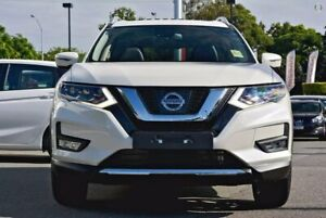 2019 Nissan X-Trail T32 Series II Ti X-tronic 4WD White 7 Speed Constant Variable Wagon Hoppers Crossing Wyndham Area Preview