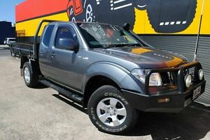 2011 Nissan Navara D40 MY11 ST-X King Cab Slate Grey 6 Speed Manual Utility Melrose Park Mitcham Area Preview