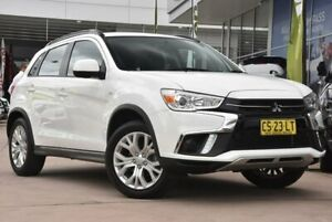 2018 Mitsubishi ASX XC MY19 ES 2WD White Solid 6 Speed Constant Variable Wagon