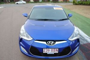 2012 Hyundai Veloster FS2 + Coupe Blue 6 Speed Manual Hatchback Townsville Townsville City Preview