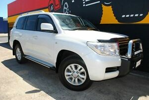2010 Toyota Landcruiser UZJ200R MY10 60th Anniversary White 5 Speed Sports Automatic Wagon Melrose Park Mitcham Area Preview