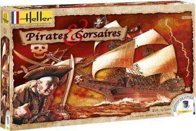 Heller 52703 Pirates Corsaires Ship Model Kit Factory Sealed
