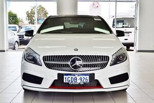 2013 Mercedes-Benz A250 176 Sport Pearl White 7 Speed Automatic Hatchback Morley Bayswater Area Preview