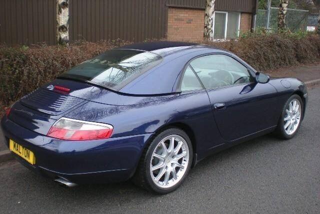 Porsche 911 Navy Blue Hard Top Convertible   in Team Valley Trading