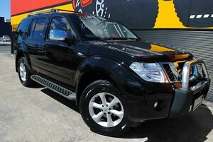 2010 Nissan Pathfinder R51 MY10 ST-L Midnight Black 5 Speed Sports Automatic Wagon Melrose Park Mitcham Area Preview