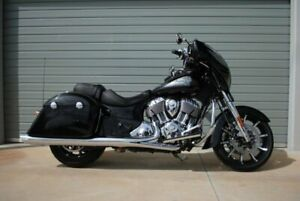 2018 Indian Chieftain Limited Thundr Black