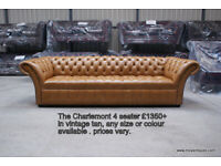 Chesterfield Sofa New BIGGEST STOCK AROUND