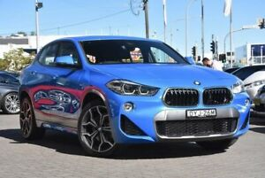 2018 BMW X2 F39 xDrive20d Coupe Steptronic AWD M Sport Blue 8 Speed Sports Automatic Wagon Parramatta Parramatta Area Preview