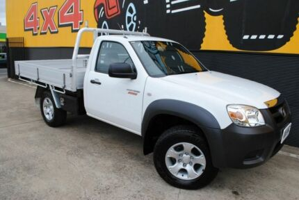 2010 Mazda BT-50 B3000 Boss DX Cool White 5 Speed Manual Cab Chassis Melrose Park Mitcham Area Preview