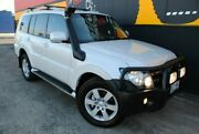 2008 Mitsubishi Pajero NS VR-X White 5 Speed Manual Wagon Melrose Park Mitcham Area Preview