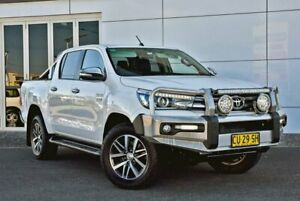 2015 Toyota Hilux GUN126R SR5 Double Cab White 6 Speed Sports Automatic Utility Tweed Heads South Tweed Heads Area Preview