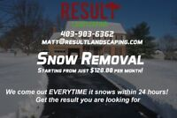 SNOW REMOVAL IN SOUTH CALGARY!