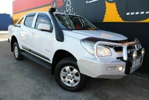 2012 Holden Colorado RG MY13 LT Crew Cab Summit White 6 Speed Sports Automatic Utility Melrose Park Mitcham Area Preview