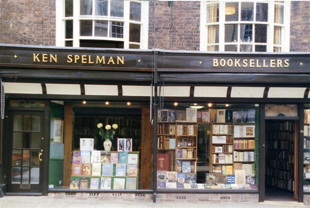 Ken Spelman Books and Manuscripts