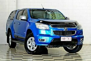 2014 Holden Colorado RG MY14 LTZ (4x4) Blue 6 Speed Automatic Crew Cab P/Up Burleigh Heads Gold Coast South Preview