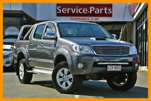 2007 Toyota Hilux KUN26R MY08 SR Grey 5 Speed Manual Utility Beaudesert Ipswich South Preview